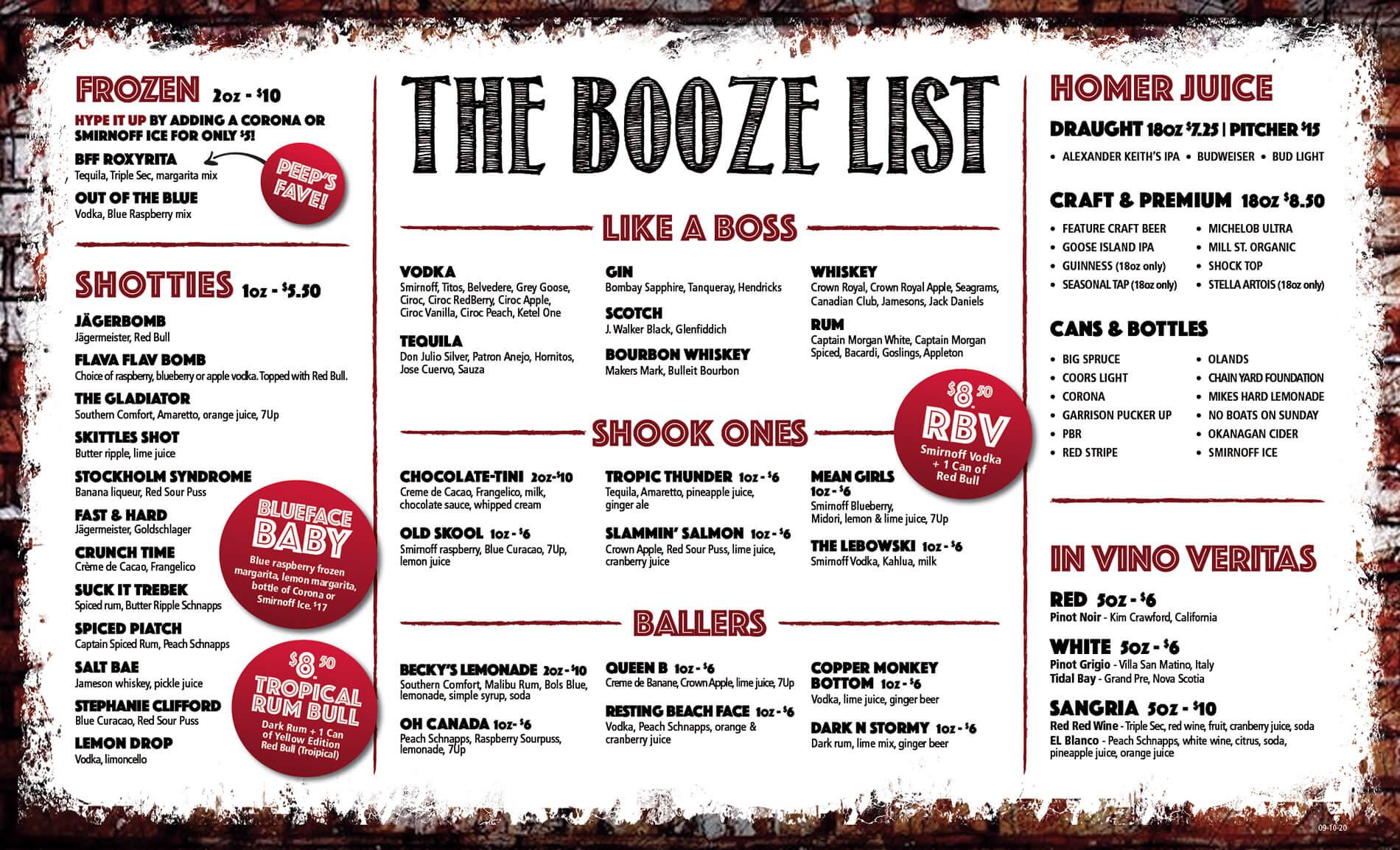 Booze-List
